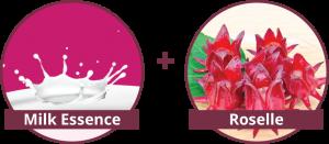 milk-essence-roselle-Shakura-pigmentation-ingredients