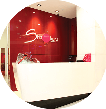 Shakura Singapore entrance reception desk