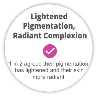 Shakura Singapore lightened pigmentation & radiant complexion results