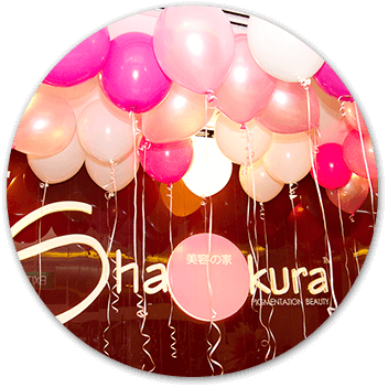 Shakura Singapore vibrant color of balloons